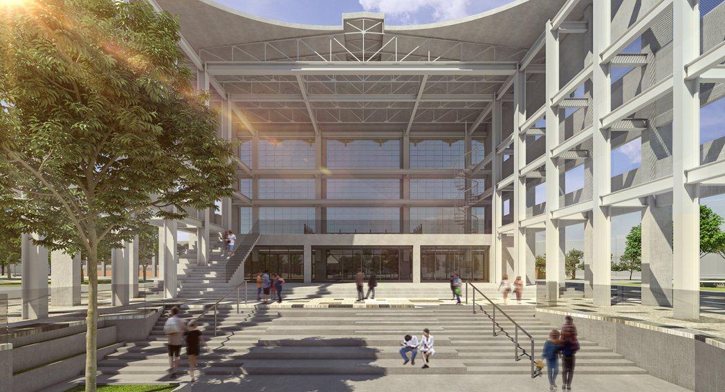 台大完成修復再利用計畫模擬圖。圖/仲觀聯合建築師事務所提供