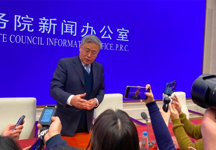中國大陸銀保監會主席郭樹清。(香港文匯網)