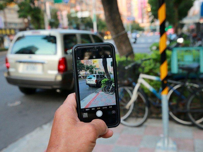 違規檢舉人常被稱為正義魔人,最近不少車主被人以行車記錄器影片檢舉違規,檢舉者車牌都是「2487-YU」。圖為示意。 圖/聯合報系資料照片