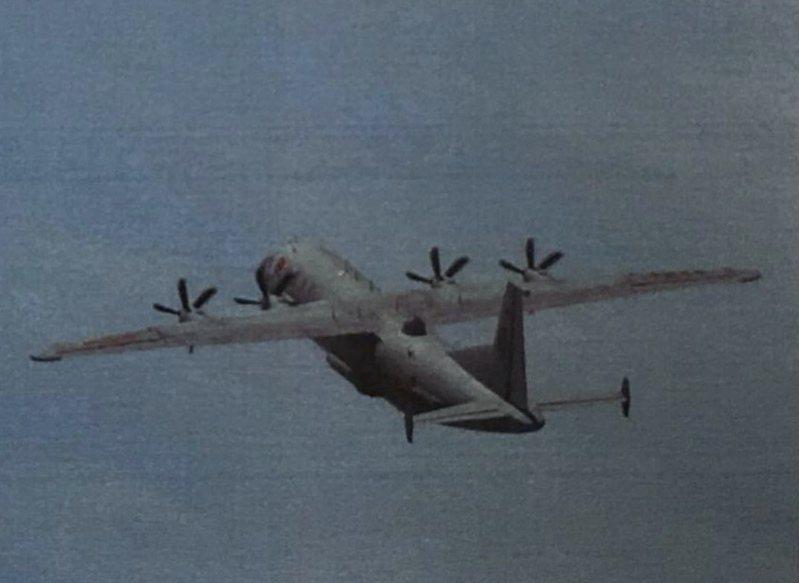 中共解放軍一架運-8技偵機(如圖、同型機資料照)今(2)日下午侵入我西南防空識別區。圖/國防部提供