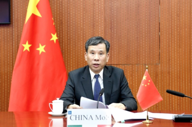 大陸財政部部長劉昆指出,2021年中國大陸將繼續實施積極的財政政策和穩健的貨幣政策。(大陸財政部官網)