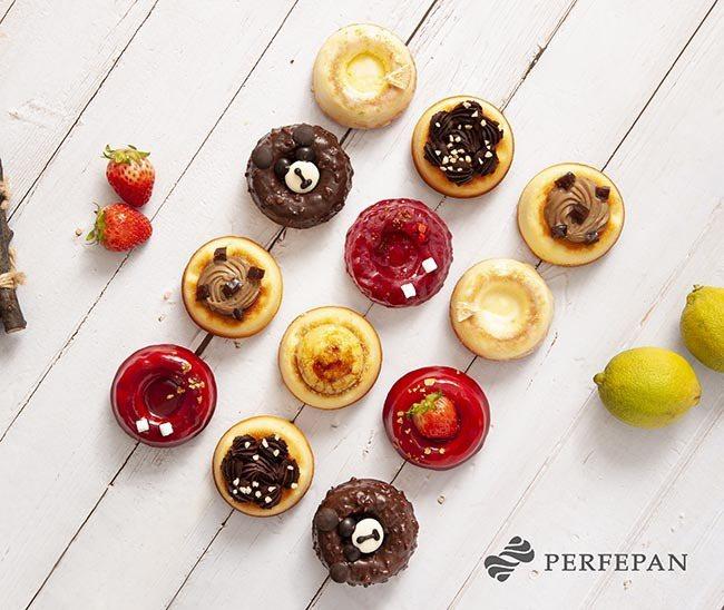 PERFEPAN新推出6種口味的「芬雪蛋糕」,單顆52~58元。圖/PERFEPAN提供