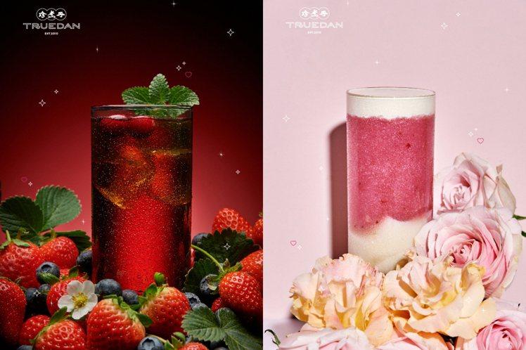 「初雪莓果雪沙」一般門市售價65元,「櫻紅莓果紅茶」為50元,百貨門市飲品價格高...