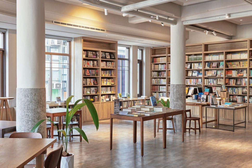 中央書局復舊如舊,也保留未來發展空間。 圖/中央書局提供