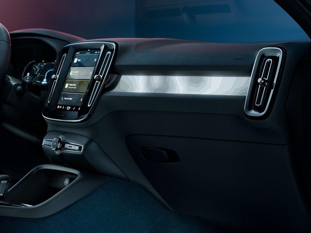全新Volvo C40 Recharge純電跑旅車室完全無任何皮革質料。 摘自V...