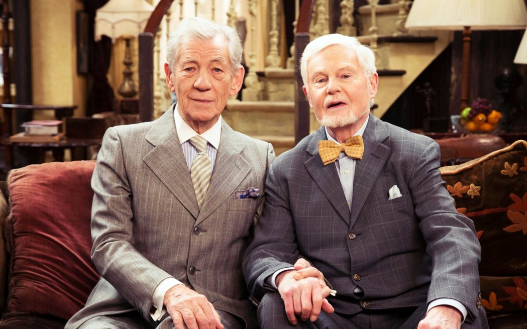 左為Ian McKellen,右是George Jacobi,兩人飾演一對準備進...