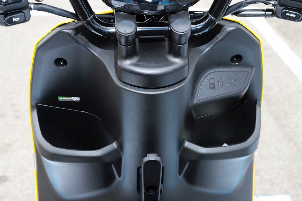 台鈴eReady Run依然維持品牌貼近騎士用車習慣的精神,如內嵌式雙前置物空間...