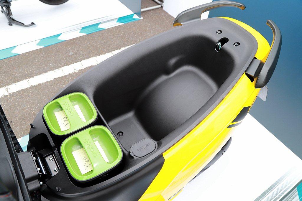 坐墊底下則維持26.5L大容量置物空間。 記者張振群/攝影