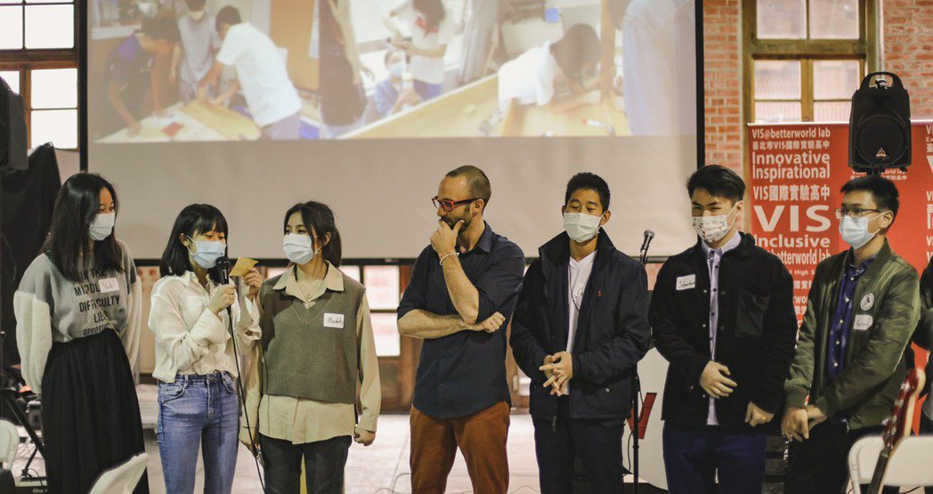 VIS國際實驗高中畢業生前進世界百大打頭陣。 VIS國際實驗高中/提供
