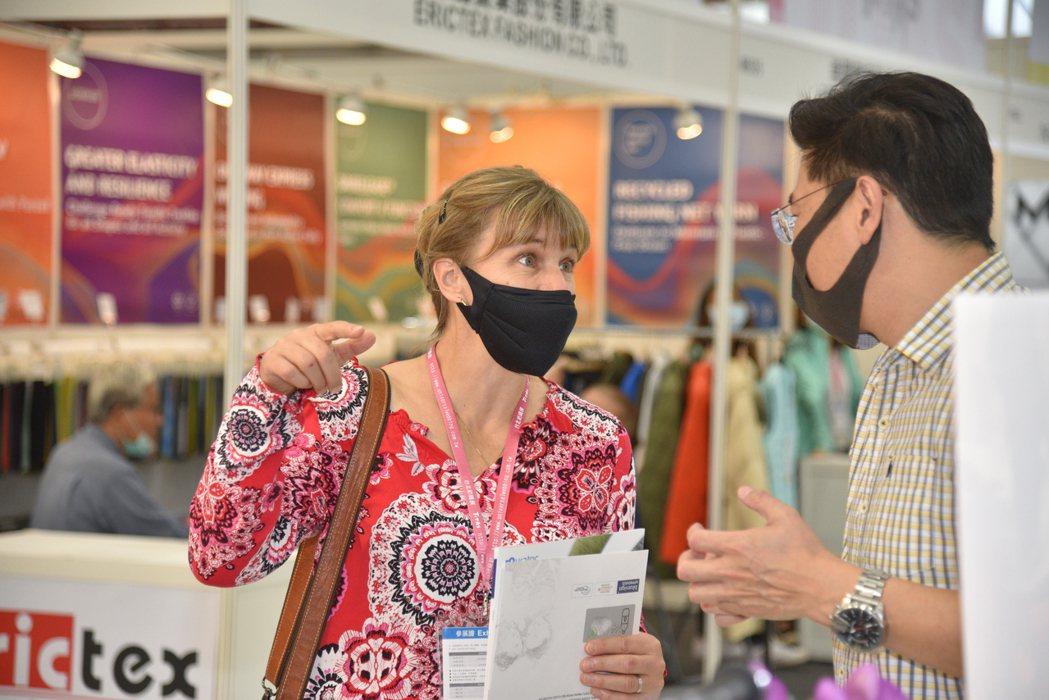 TITAS將持續安排國際買主來臺參與紡織品一對一採購洽談會。 紡拓會/提供