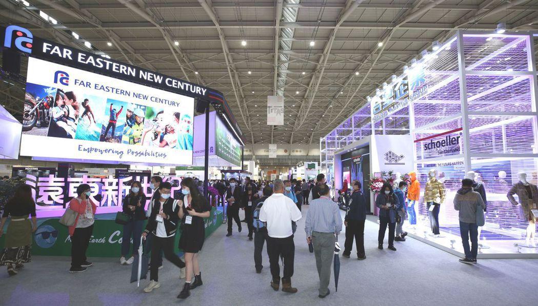 在國際展覽紛紛取消及延期的狀況下,TITAS有信心推升臺灣紡織業競爭力,協助業者...