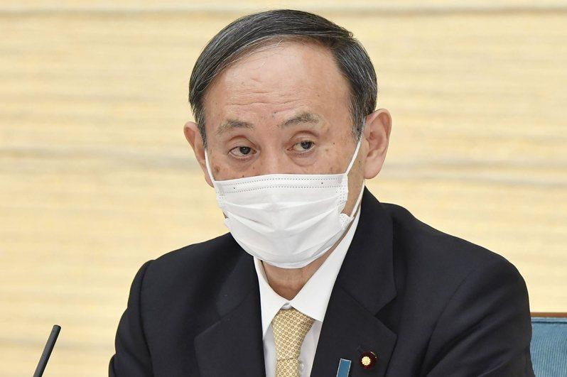日本首相菅義偉。 美聯社