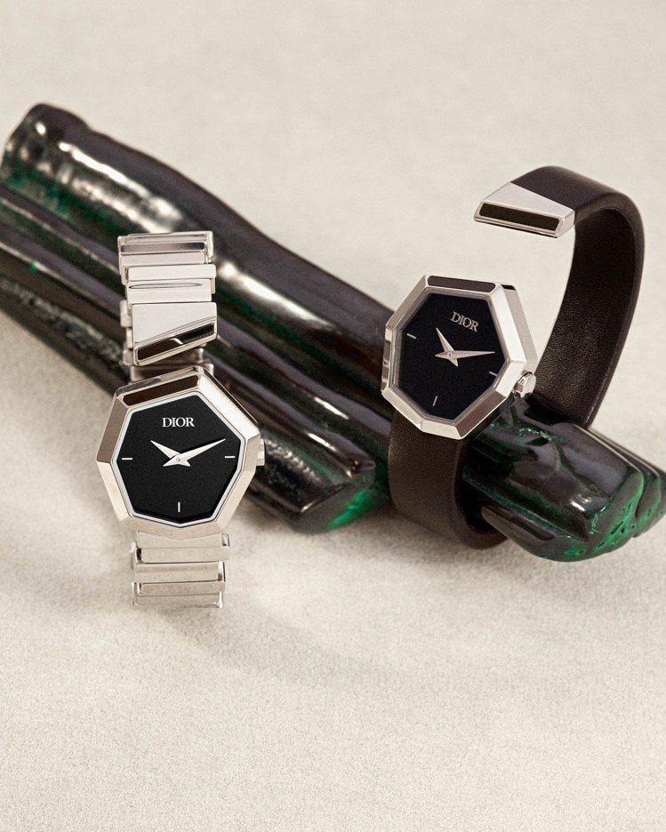 GEM DIOR系列推出全新的珠寶表作品。圖/DIOR提供