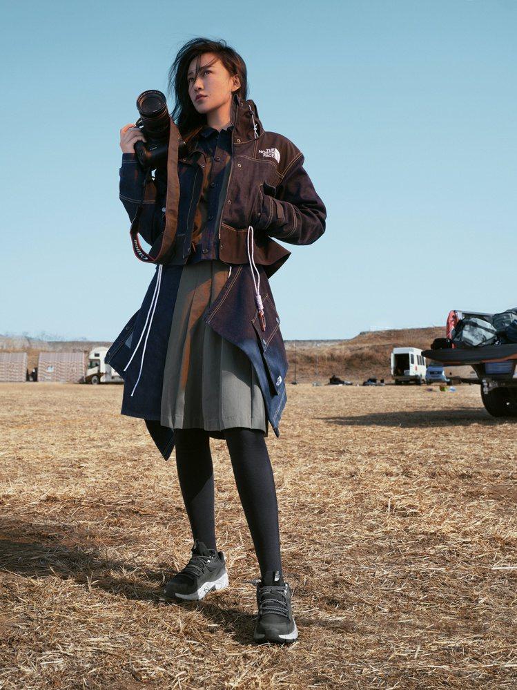 知名攝影師陳漫詮釋The North Face女性專屬春夏系列。圖/The No...