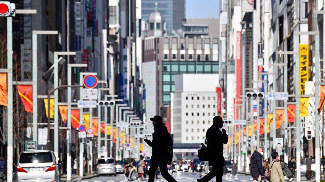日本東京都據稱有意要求中央政府繼續延長兩周的緊急事態宣言。法新社