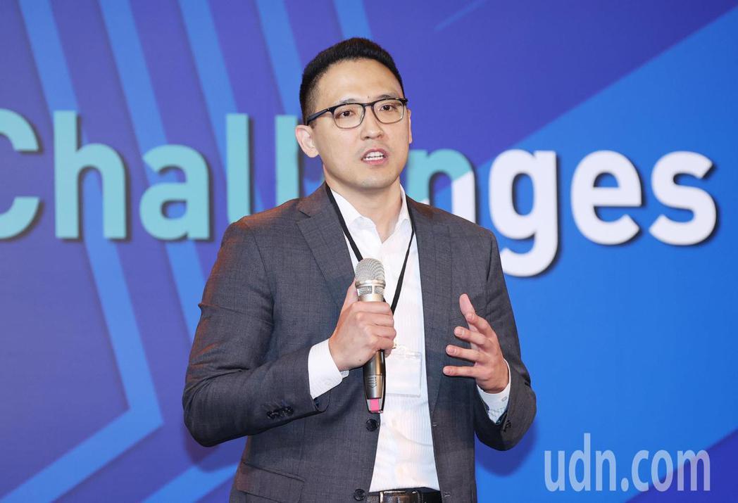台灣微軟總經理孫基康。記者杜建重/攝影