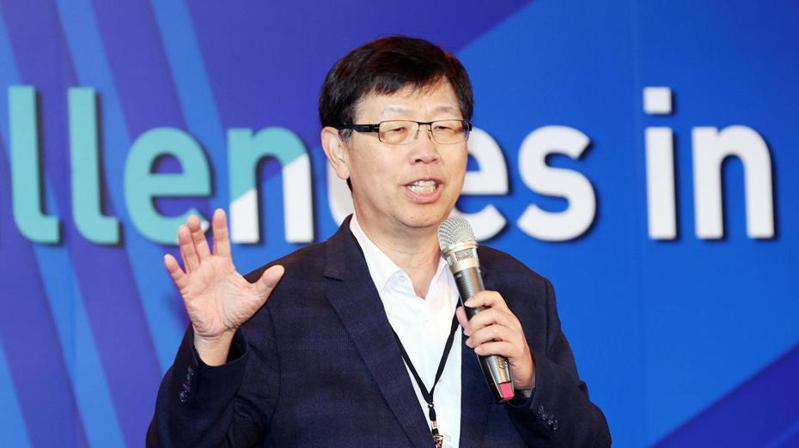 鴻海集團董事長暨研究院院長劉揚偉。聯合報記者杜建重/攝影