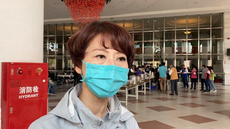 民進黨立委陳亭妃表示,中國大陸對台灣經濟的制裁動作一點都不意外。記者鄭維真/攝影