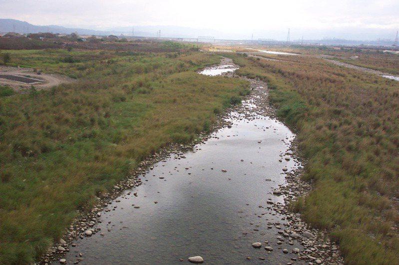 頭前溪。本報資料照片