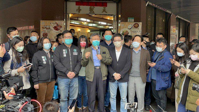 柯文哲說,中國自詡為大國,要有大國風範,這樣做只是讓台灣人更不爽而已,對中國沒有好處。圖/民眾黨提供