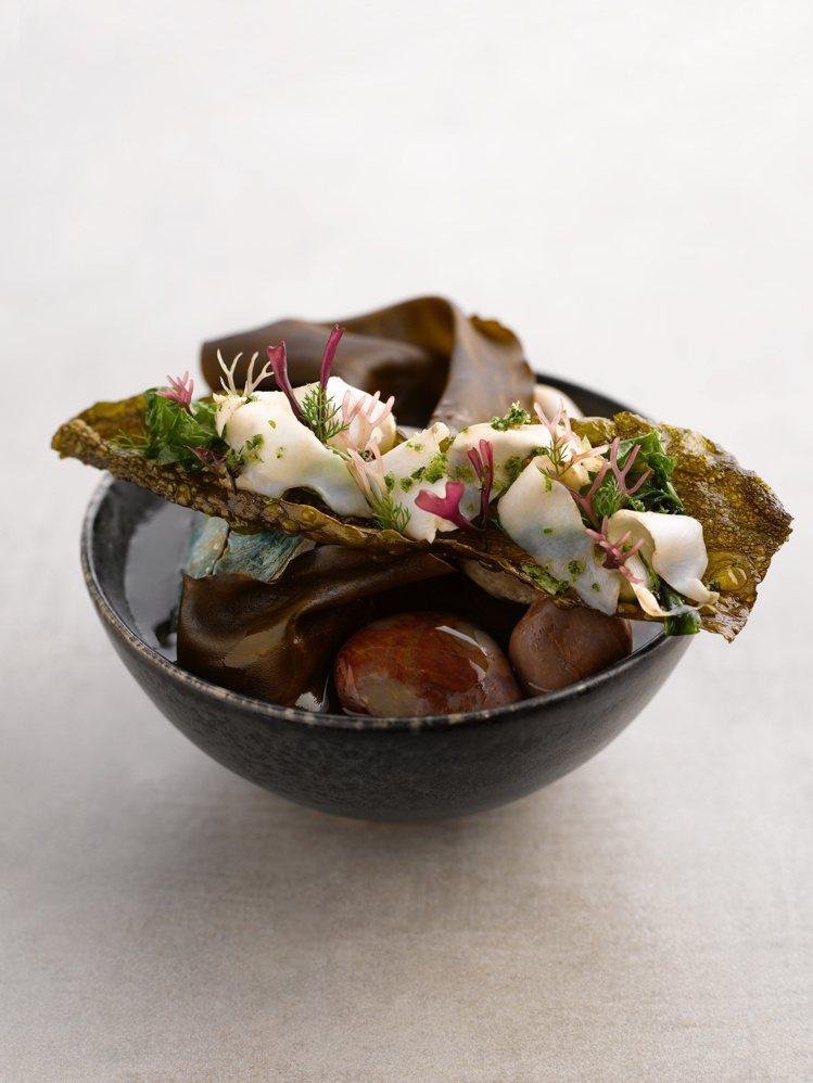 海味昆布脆片(Kombu tartine)。圖/RAW提供。