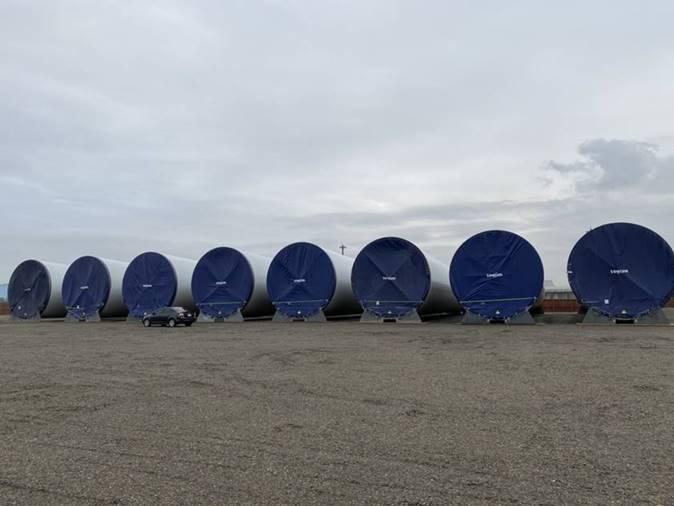 丹麥哥本哈根基礎建設基金(CIP)主導開發的彰芳暨西島離岸風場今(3)日宣布,第一期工程計100MW、十座離岸風機所需的30節風力機塔架,以及30支水下基樁,皆已全數順利完成生產。CIP