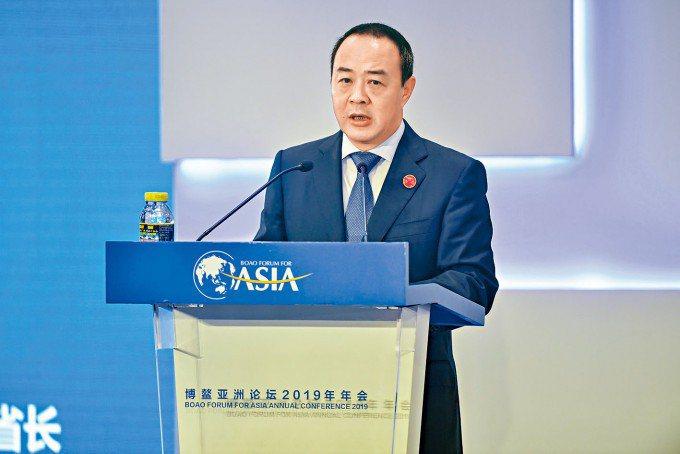 港媒披露,海南副省長毛超峰將掌香港「文化央企」。(取自星島日報)