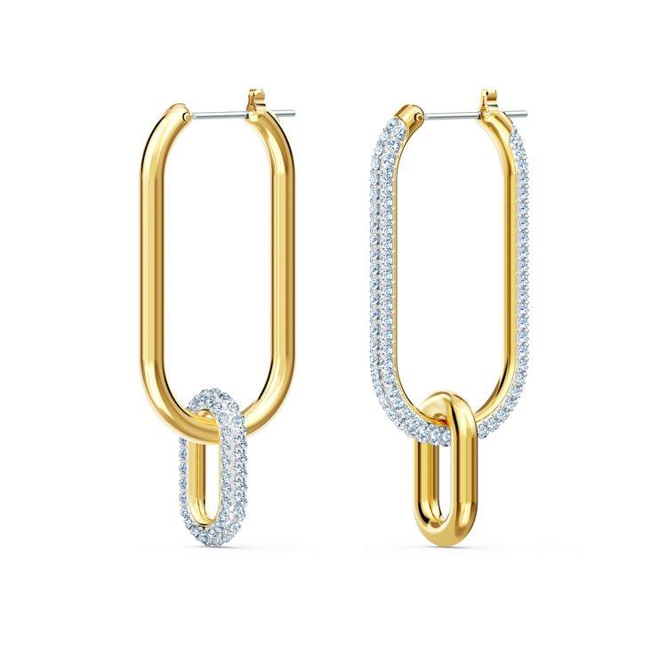 施華洛世奇Time穿孔耳環,4,290元。圖/施華洛世奇提供