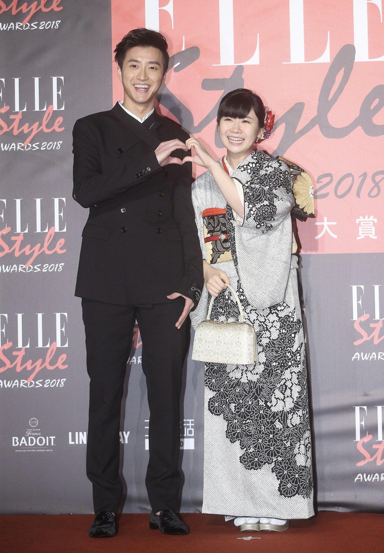 江宏傑(左)與福原愛驚傳婚變。圖/報系資料照