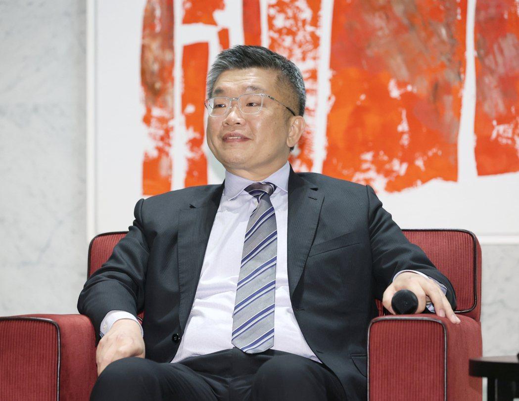 中華職棒會長蔡其昌對組成最強中華隊很有信心。記者曾原信/攝影