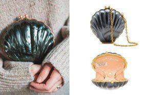 想當美人魚嗎?LULU GUINNESS貝殼包一系列新色登場