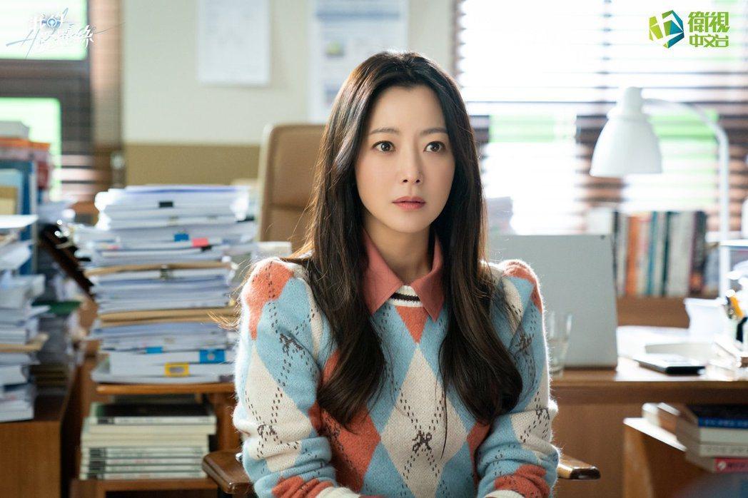韓國天后金喜善46歲仍年輕如大學生。圖/福斯提供