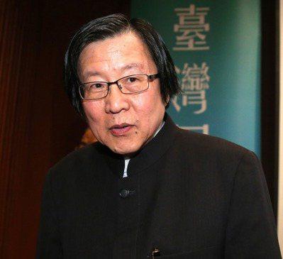 國安會前秘書長、現任新境界文教基金會董事長邱義仁 。本報資料照片