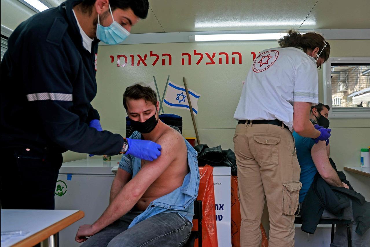 以色列40%人口完成疫苗接種 餐館酒吧恢復營業