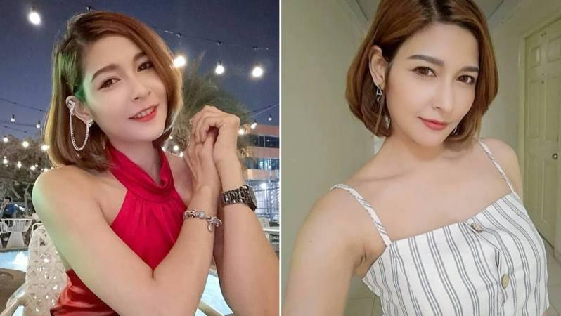 圖為泰國模特兒瓦瓦在Instagram上傳的生活照片。(Wawa Manika Instagram)