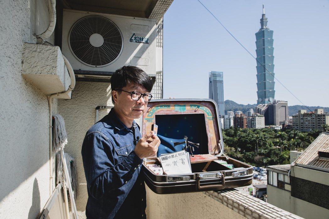 影集「天橋上的魔術師」劇情發生在1980年代台北西門町中華商場,美術指導王誌成展...