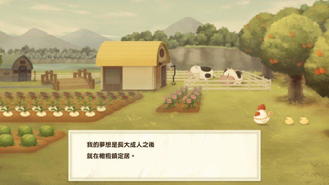 遊戲開端敘述主角在去過祖父的牧場之後,便立志要和祖父一樣,經營牧場過著悠閒生活。