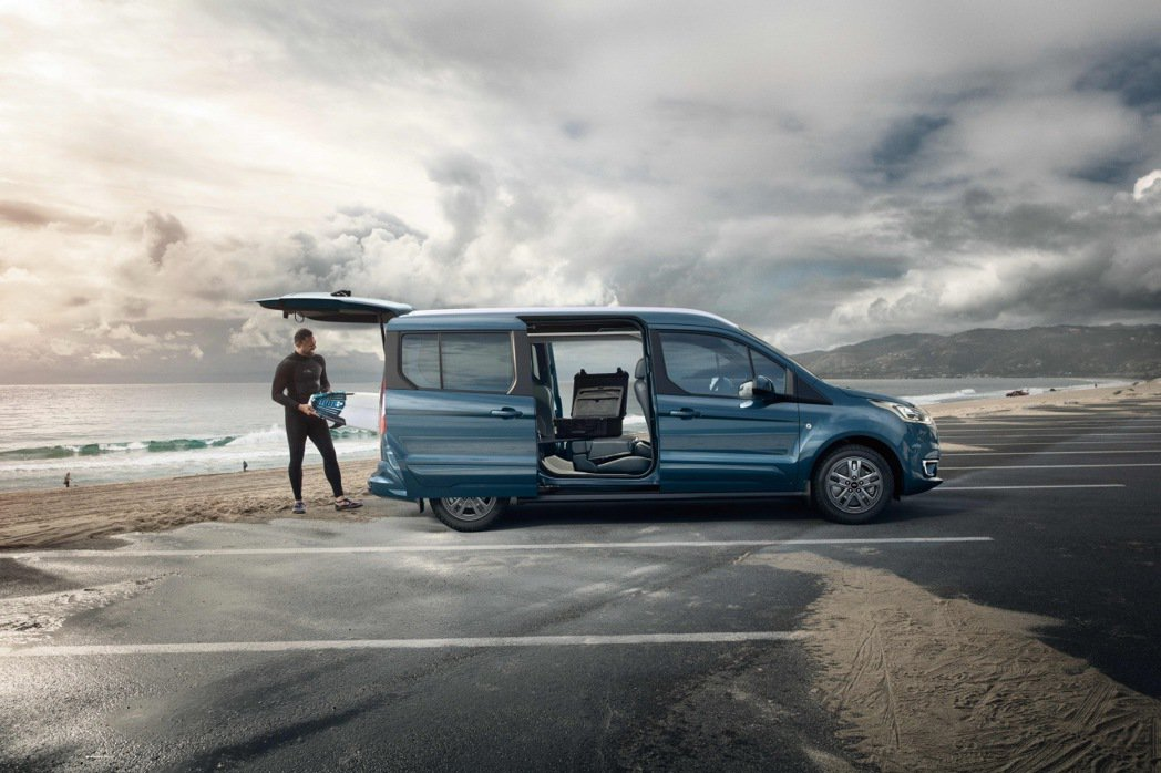 The All-New Ford Tourneo Connect旅玩家採用Box...