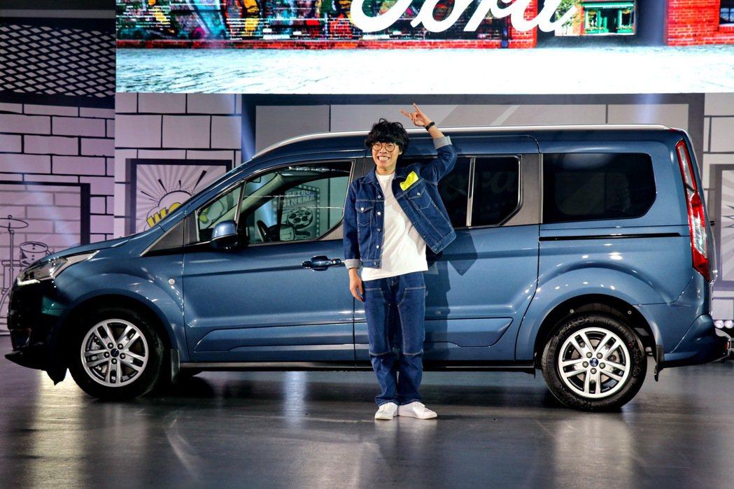 盧廣仲擔任Ford旅玩家代言人。 記者陳威任/攝影