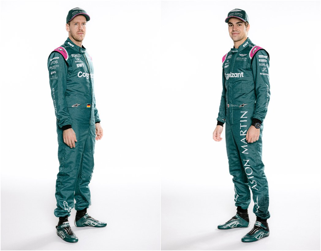Sebastian Vettel(左),Lance Stroll(右)。 圖/A...