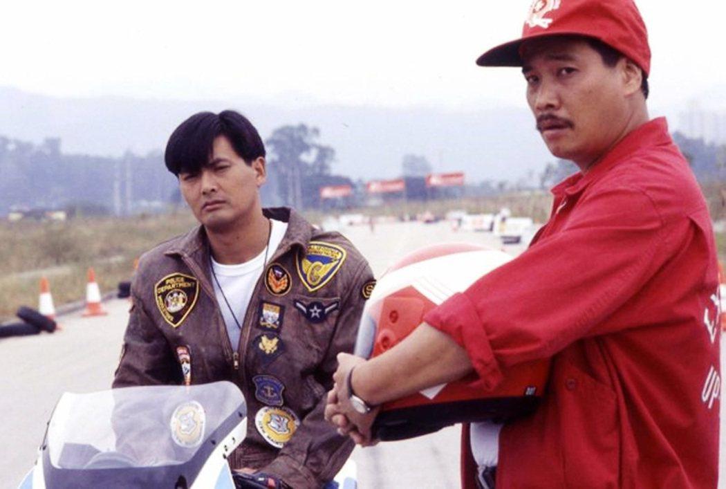 1989年由杜琪峯執導的電影,左為周潤發、右為吳孟達。 圖/《阿郎的故事》