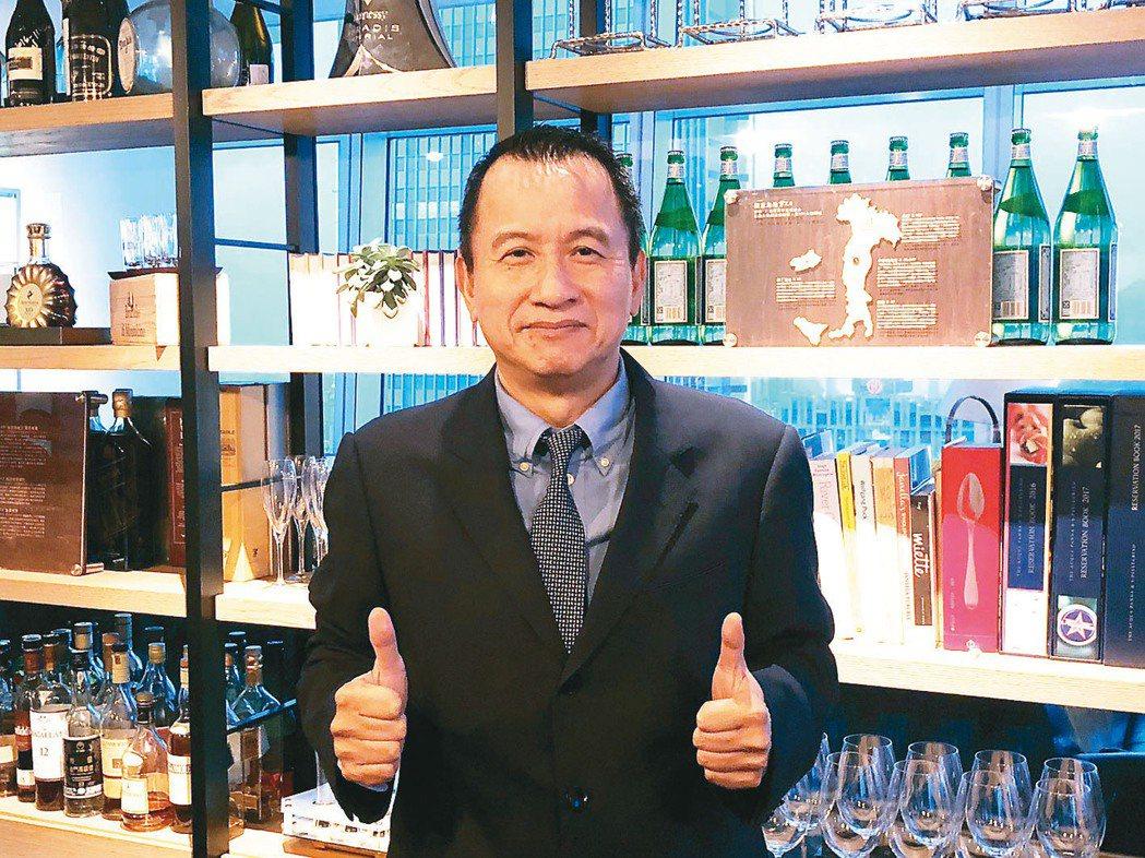 泰鼎執行長周瑞祥。本報資料照片