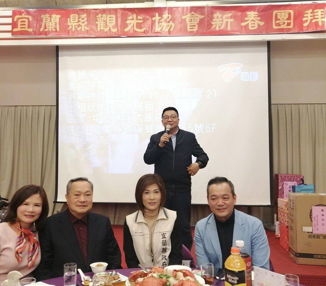陳歐珀立委到場致詞。 台灣區觀光協會聯合會/提供