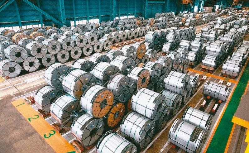 鋼價屢屢上漲。聯合報系資料照