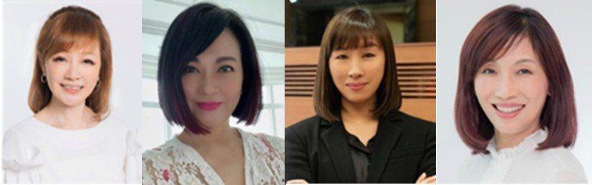 「Woman School 女人學校」邀請(左起)許力今、翁美慧、王德頻、李素真...