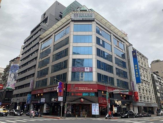 西門商圈精華商用大樓外觀。 普華國際不動產/提供