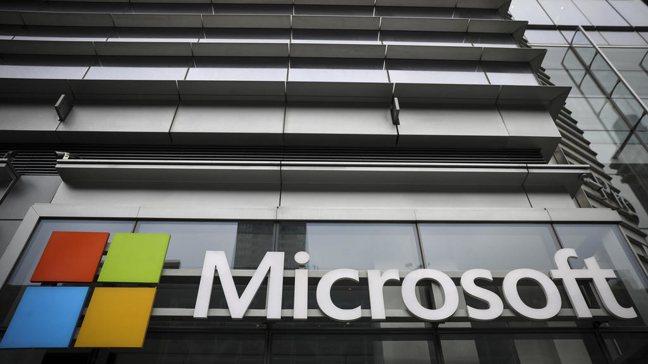 微軟Microsoft。報系資料照