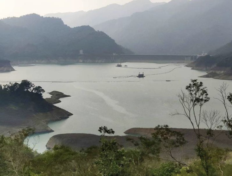 全台大缺水,圖為台南曾文水庫的情況。本報資料照片