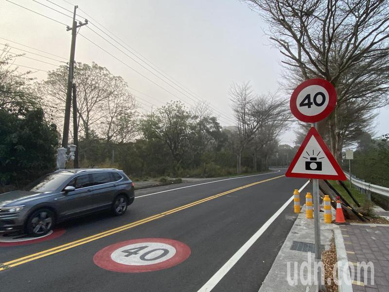 為有效遏止彰化縣道139線的車禍事故,彰化縣警察局在20.153K處再新增一支固定測速桿,目前桿架已經架好,裝好儀器後,即可開張。記者劉明岩/攝影