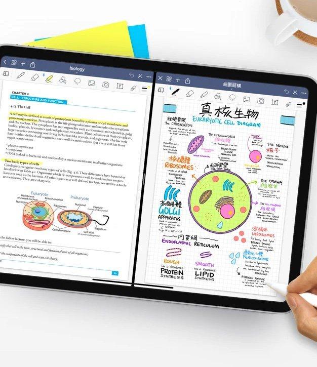 「GoodNotes 5」是全球最熱門的付費iPad生產力工具App之一。圖/蘋...